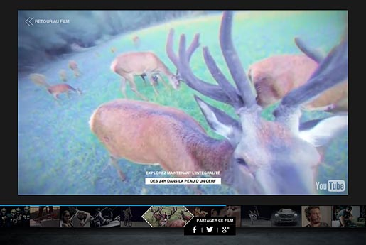 Mercedes Benz Sensations Deer Camera