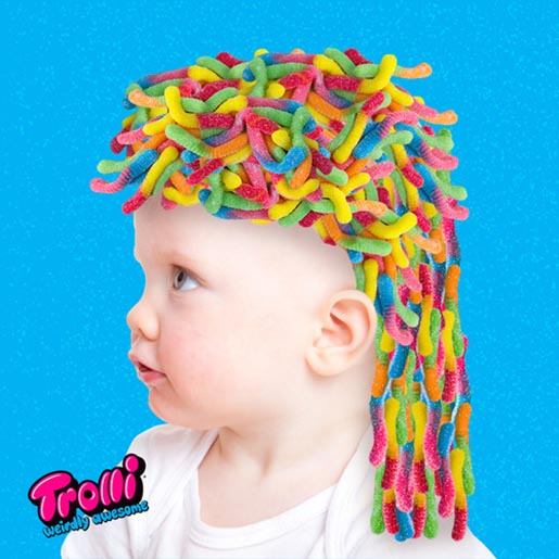 Trolli Weirdly Awesome hair
