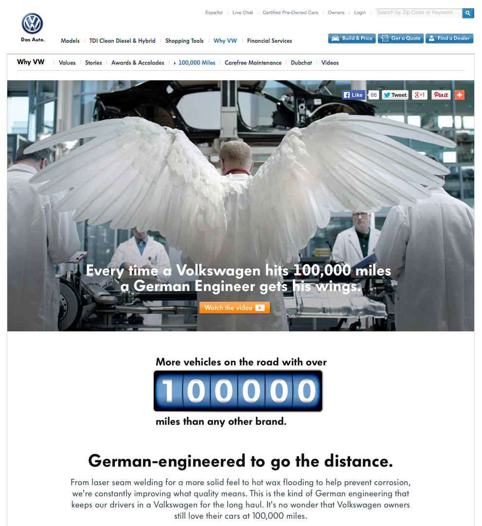 Vw Quote Volkswagen Engineers Get Their Wings  The Inspiration Room