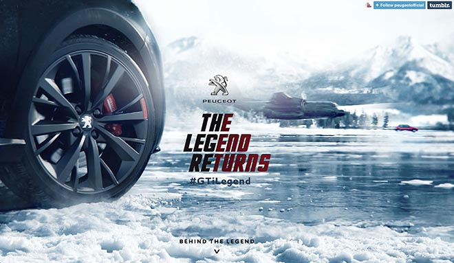 Peugeot Legend Returns Tumblr site