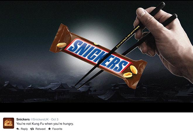 Snickers Mr Bean When You Re Hungry The Inspiration Room