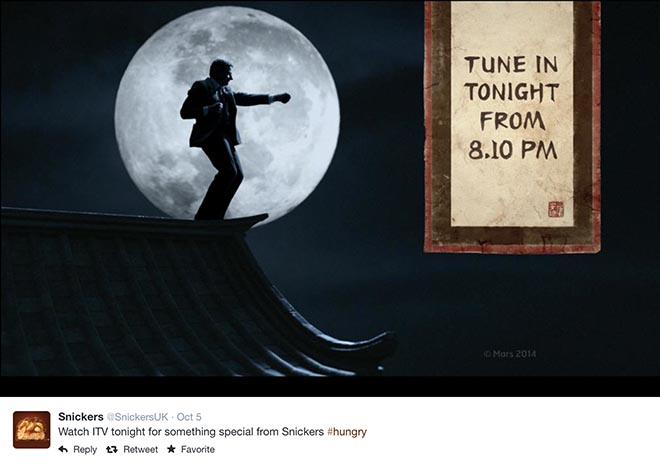 Snickers Tune in Tonight