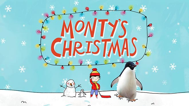 John Lewis Monty's Christmas animated