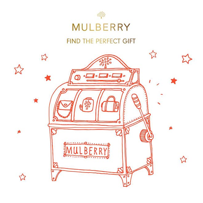 Mulberry #WinChristmas Find the Perfect Gift