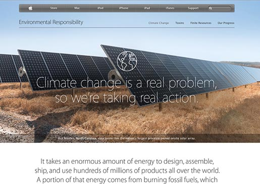Apple - Climate Change
