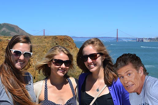 Google Auto Aweseome Photobomb with David Hasselhoff