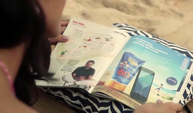Nivea Sun Protect Band Ad and App