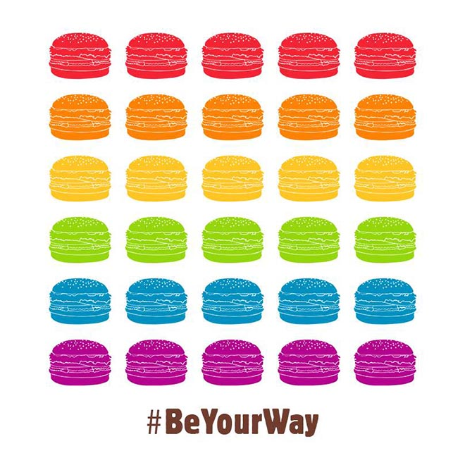 Burger King Proud Whopper #BeYourWay