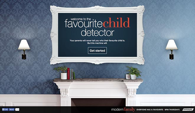 Favourite Child Detector site