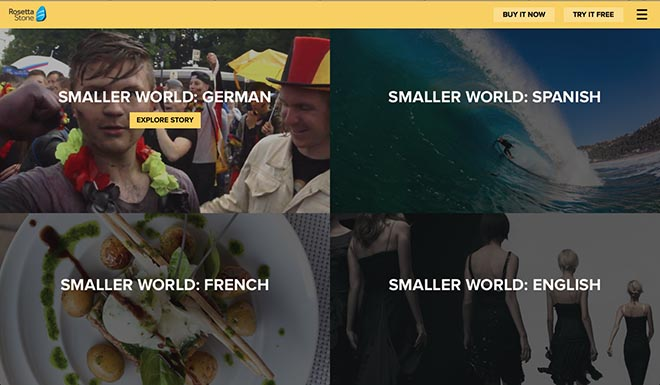 Rosetta Stone Create A Smaller World - Instagram Challenge