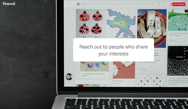 Pinterest Reach Out To Friends