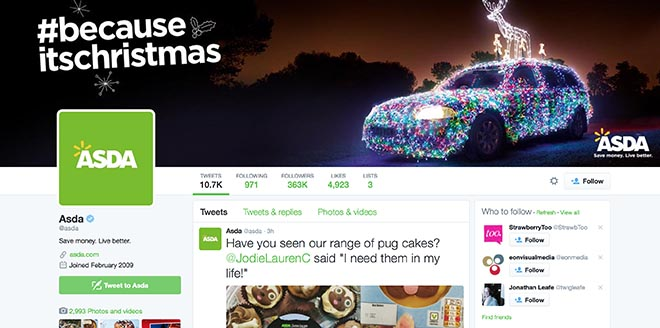 ASDA #BecauseItsChristmas on Twitter
