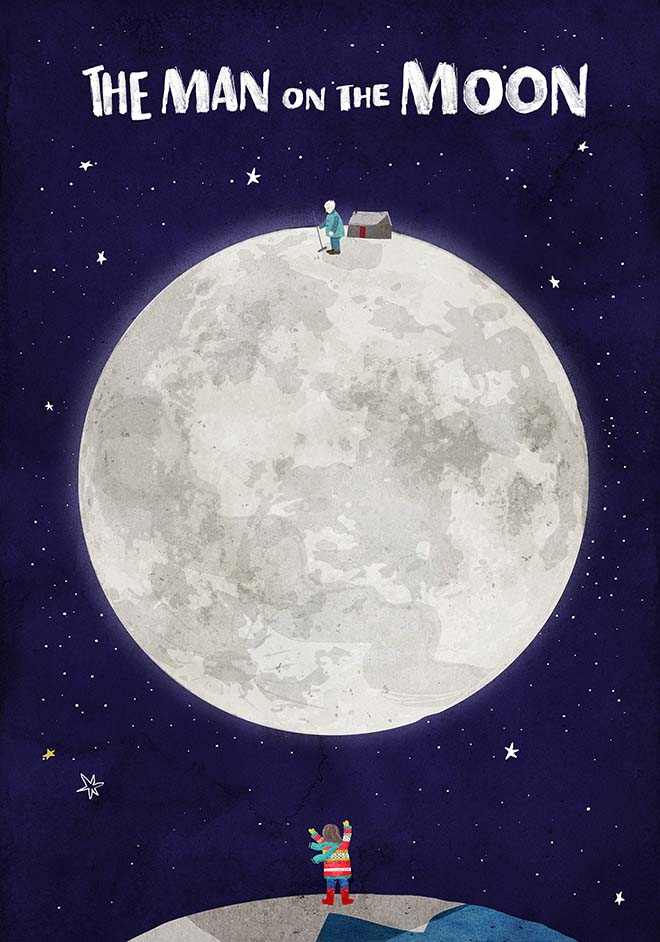 John Lewis Man on the Moon poster