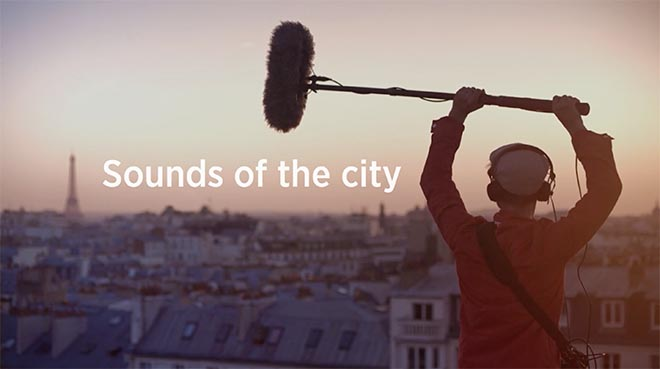 Thalys Sounds of the City