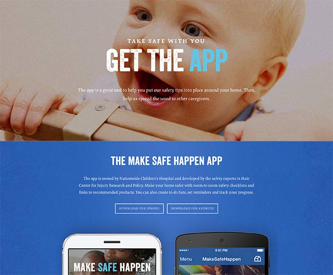 Nationwide Make Safe Happen app