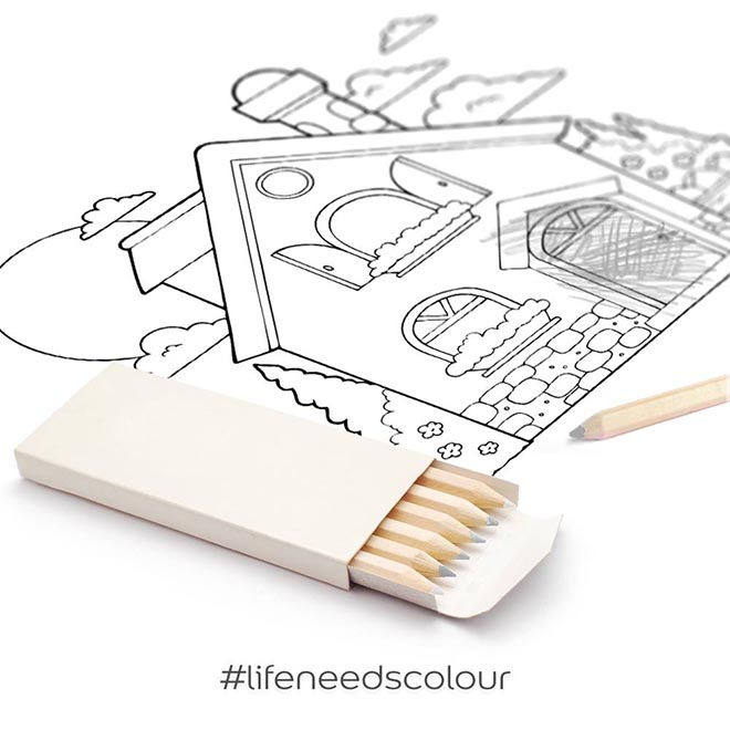 Dulux Life Needs Colour - Pencils