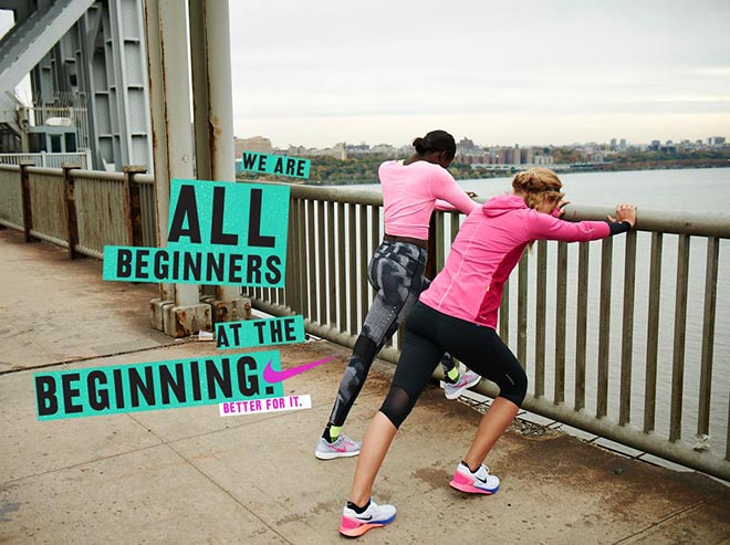 Nike Women #betterforit All Beginners