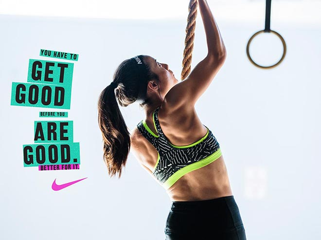 Nike Women #betterforit Get Good