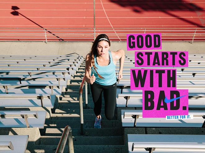 Nike Women #betterforit Good Starts