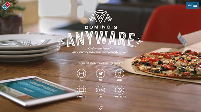 Domino's Anyware