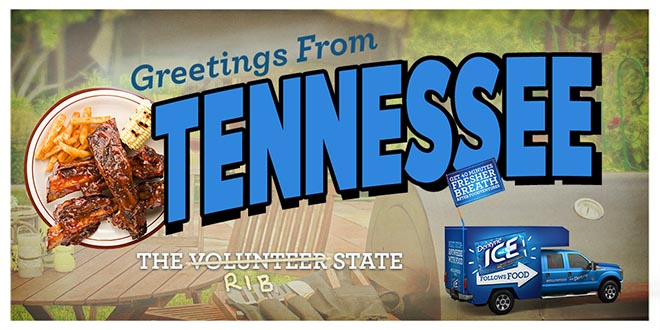 Dentyne Follow Food Truck in Tennessee