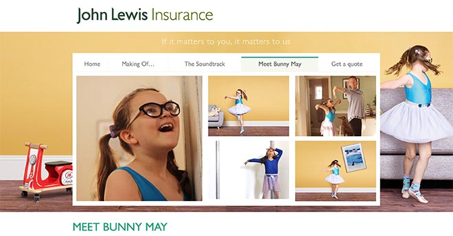 John Lewis Meet Bunny May