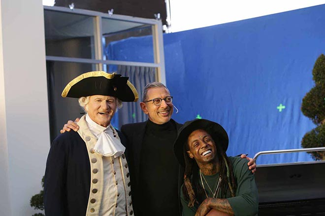 Apartments.com Jeff Goldblum George Washington and Lil Wayne