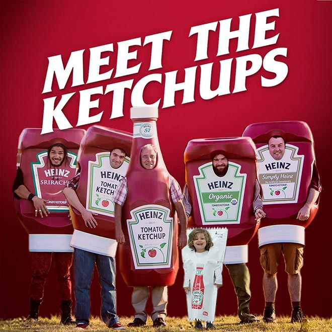 Heinz Meet the Ketchups