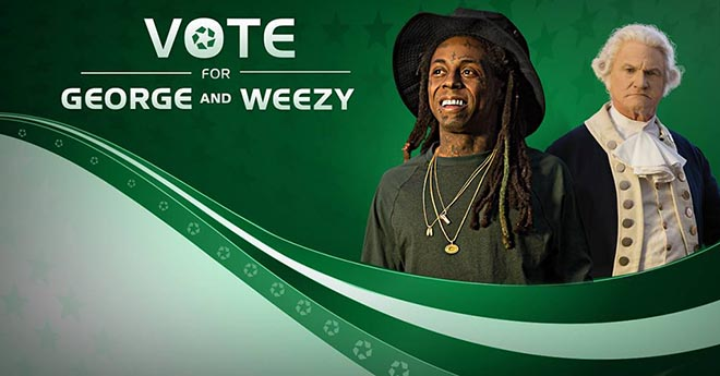Apartments.com Vote George and Weezy