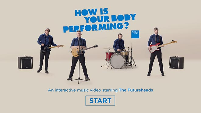 Bupa How is your body performing Futureheads page