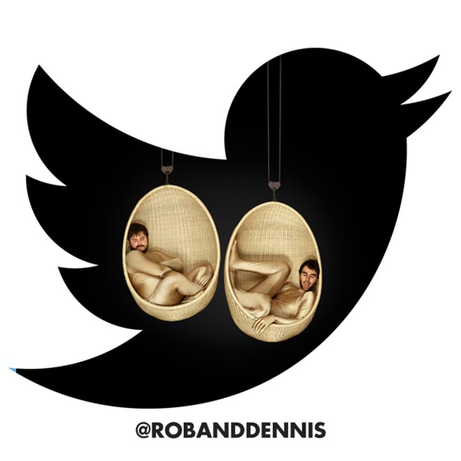Bonds Boys Rob and Dennis Twitter page