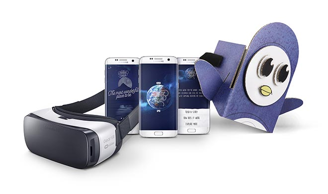 Samsung Bedtime Virtual Reality Stories