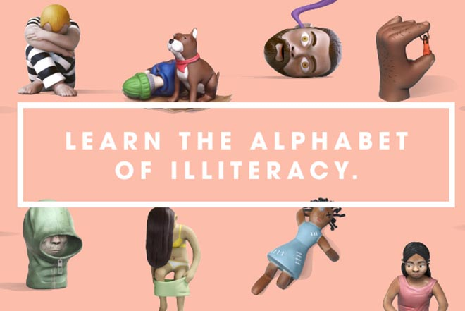 Alphabet of Illiteracy