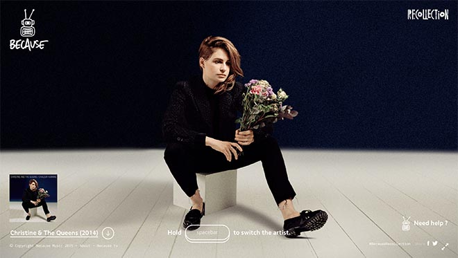 Because Recollection Christine & The Queens