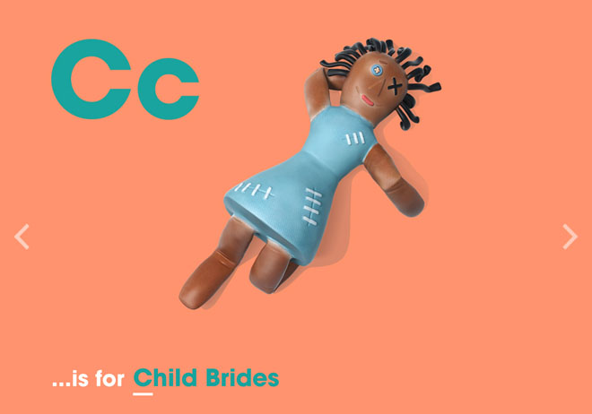 Alphabet of Illiteracy C is for Child Brides