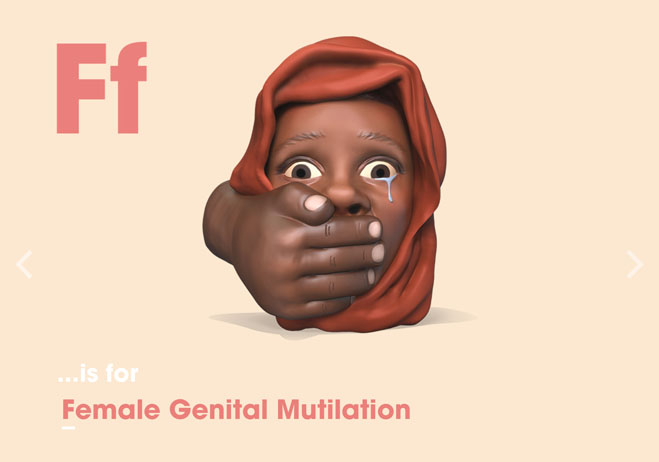 Alphabet of Illiteracy F is for Female Genital Mutilation