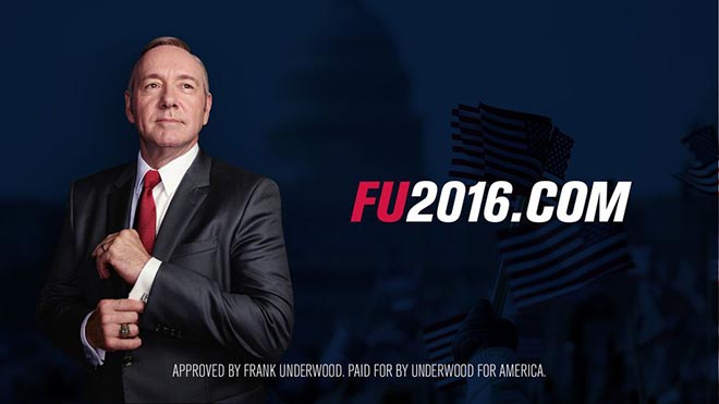 FU2016.com Frank Underwood 2016
