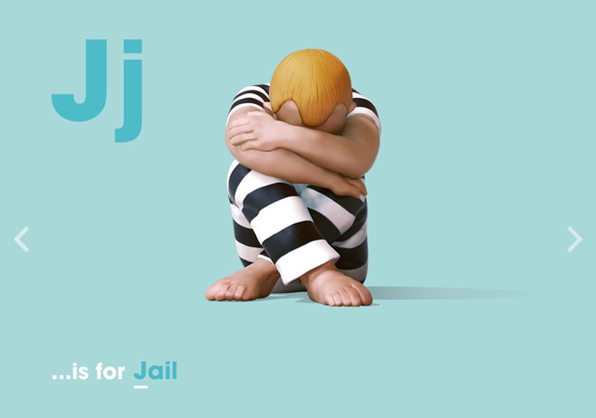 Alphabet of Illiteracy J is for Jail