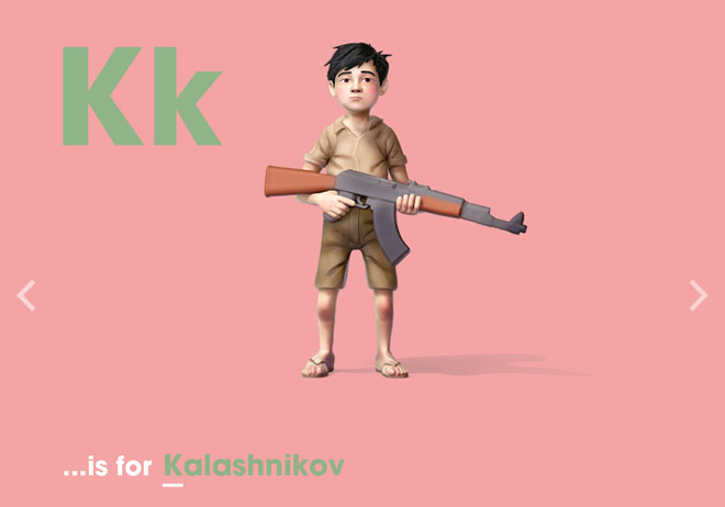 Alphabet of Illiteracy K is for Kalashnikov