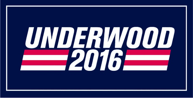 Frank Underwood 2016 bumper sticker