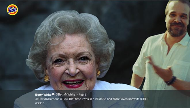 Tide Ad Betty White
