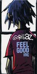 Gorillaz Feel Good Inc Single Cover