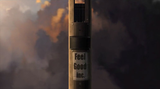 Gorillaz Feel Good Tower from Music Video