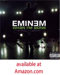 Eminem When I'm Gone Single CD includes video