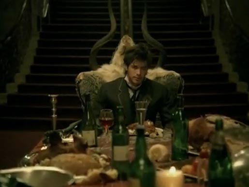 Oliver Goodwill in Evanescence music video