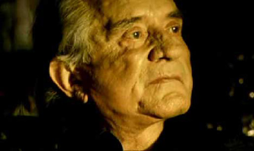 Johnny Cash in Music Video Hurt