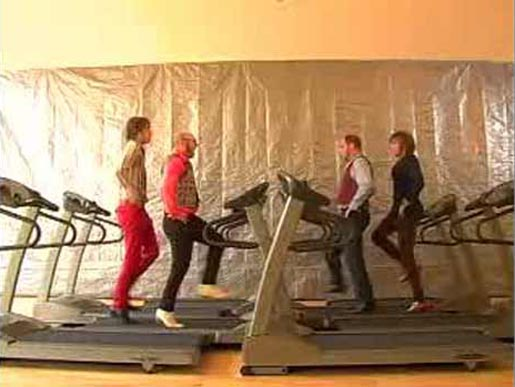 Treadmill Music Video by OK Go