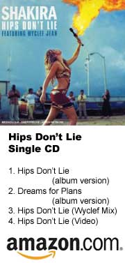 Hips Don't Lie Single at Amazon.com