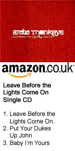 Arctic Monkeys Single at Amazon UK