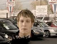 MC Lars in Car Sales Yard